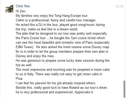 Chin Yen - Calvin