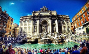 Europe tour - Trevi Fountain in Rome