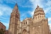 Die berühmte Kathedrale von Toledo ist die Hauptkirche des Bistums Toledo im Herzen von Spanien